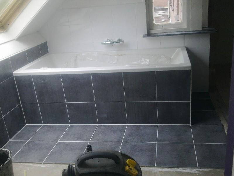 Tegelwerk gramsbergen houvast bouw - Badkamer betegeld ...